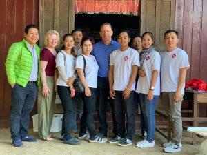 Volunteer - Valerie, Bill, Chinda and team