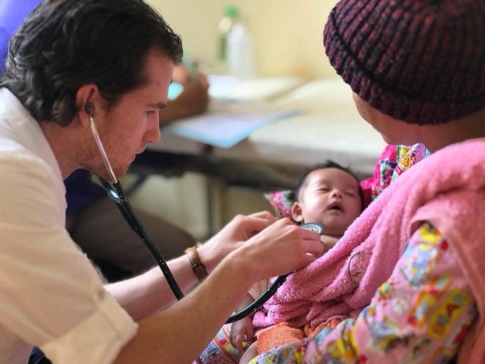 Volunteer - Doctor and infant patient